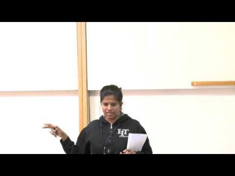 Arpita Korwar: Identity testing for sums of ROABPs - צילום הרצאות סטודיו האנה בי