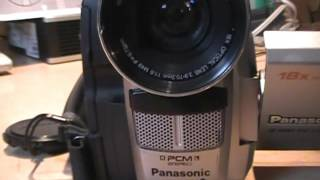 Panasonic PV-DV400 camcorder with Infrared Night Vision
