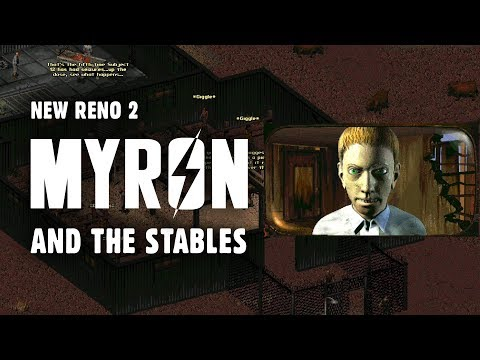 The Story Of Fallout 2 Part 13: New Reno 2 - Myron & The Stables: The Boy Genius Who Invented Jet