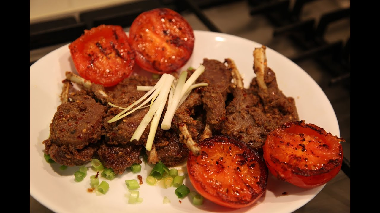 Spicy Lamb Chops Bajias Cooking Youtube