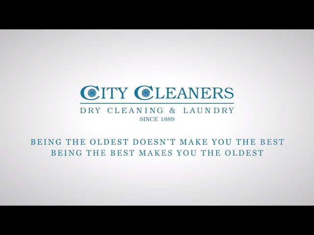 City Cleaners Home Laundry Ad
