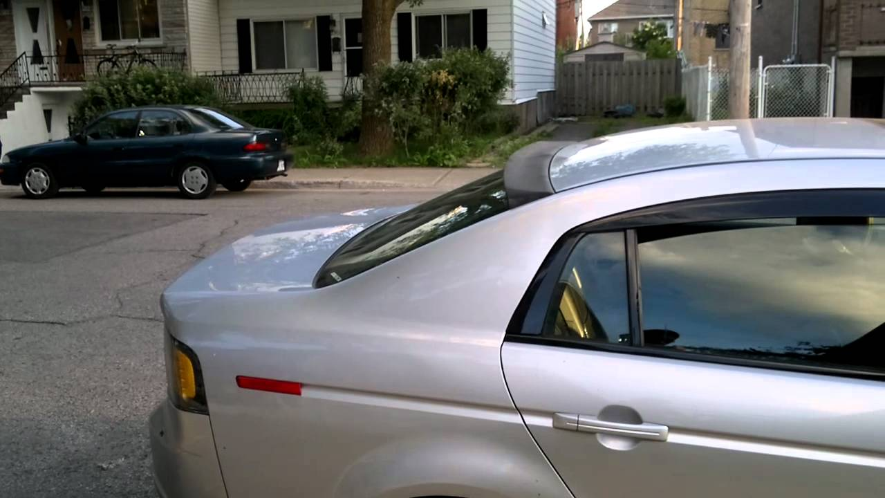 2006 acura tl rear roof spoiler about roof. Black Bedroom Furniture Sets. Home Design Ideas