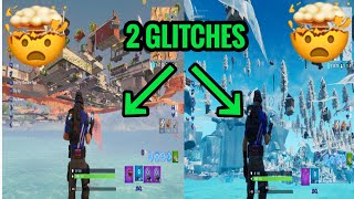 2 Under Map Glitches 1K Subscriber Vid Fortnite Under The Map Location Glitches!