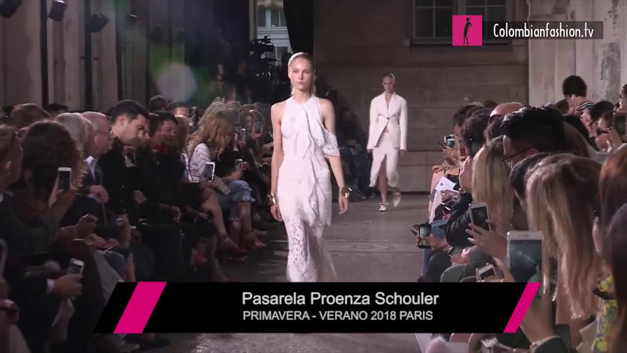 Pasarela Proenza Schouler Primavera/Verano 2018 Paris