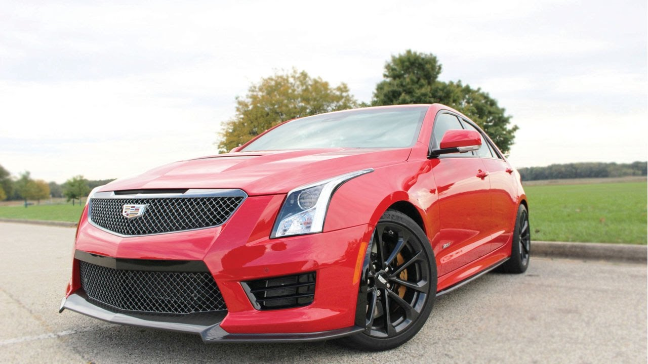 2017 Cadillac ATS-V Sedan: A Sports Sedan to Make the ...