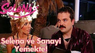 Selena ve Sanayi yemekte!
