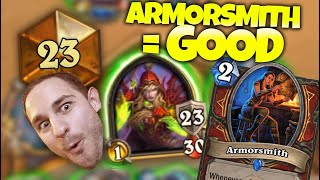 Armorsmith in Rogue is BUSTED ft. Firebat   Zalae Hearthstone   Legend