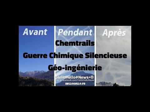 Chemtrails : Guerre Chimique Silencieuse (Géo-ingénierie)
