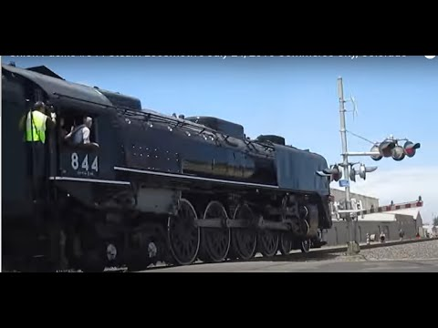Union Pacific #844 Steam Locomotive July 24, 2016 Commerce City, Colorado