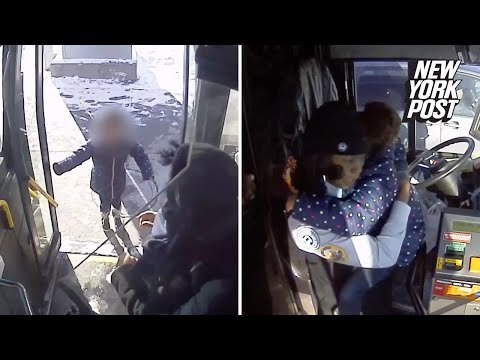 Heroic Bus Driver Comforts Frantic Little Girl After Her Mom Has a Seizure | New York Post