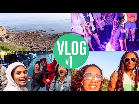 VLOG #1 The Beach, Twerk Party And Friends In Dalian, China