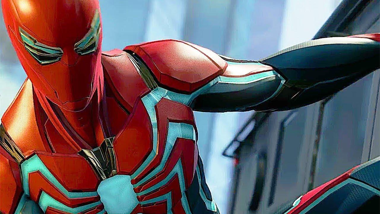 Marvel's Spider-Man - Velocity Suit Reveal Trailer - YouTube
