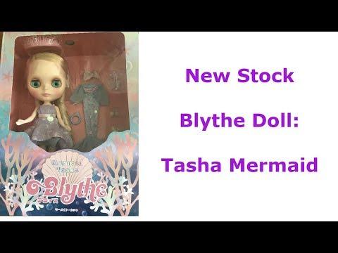 New Stock  Blythe Doll:  Tasha Mermaid