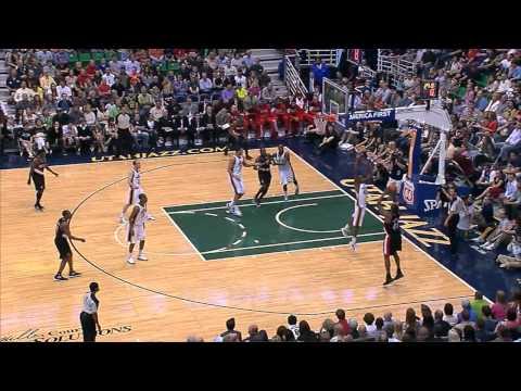 Jeremy Evans Highlights in Season Finale vs. Portland Trailblazers 04-26-12
