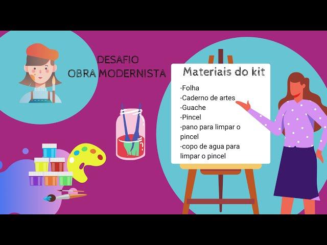 Arte e Educação | Modernismo para Crianças