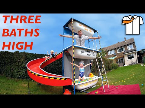 The Triple Bath (with slide yo)