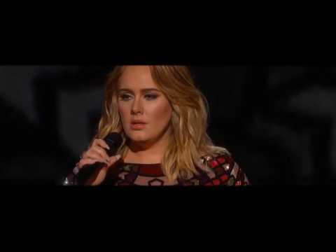 Adele Performs Hello at 2017 Grammy Awards