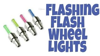 Flashing Flash Wheel Lights For Cars And Bikes