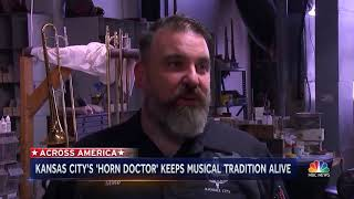 'Horn Doctor' Keeping Jazz Alive In Kansas City  NBC Nightly News 1
