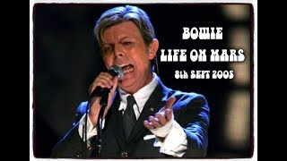 BOWIE ~ LIFE ON MARS ~ LIVE 2005