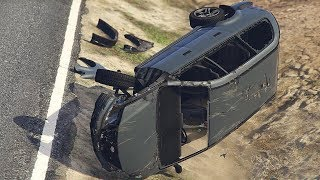 GTA 5 AWESOME CAR CRASHES COMPILATION!!!