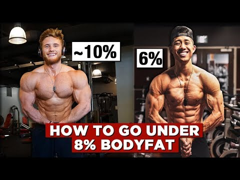 How To Get Under 8% Bodyfat Naturally