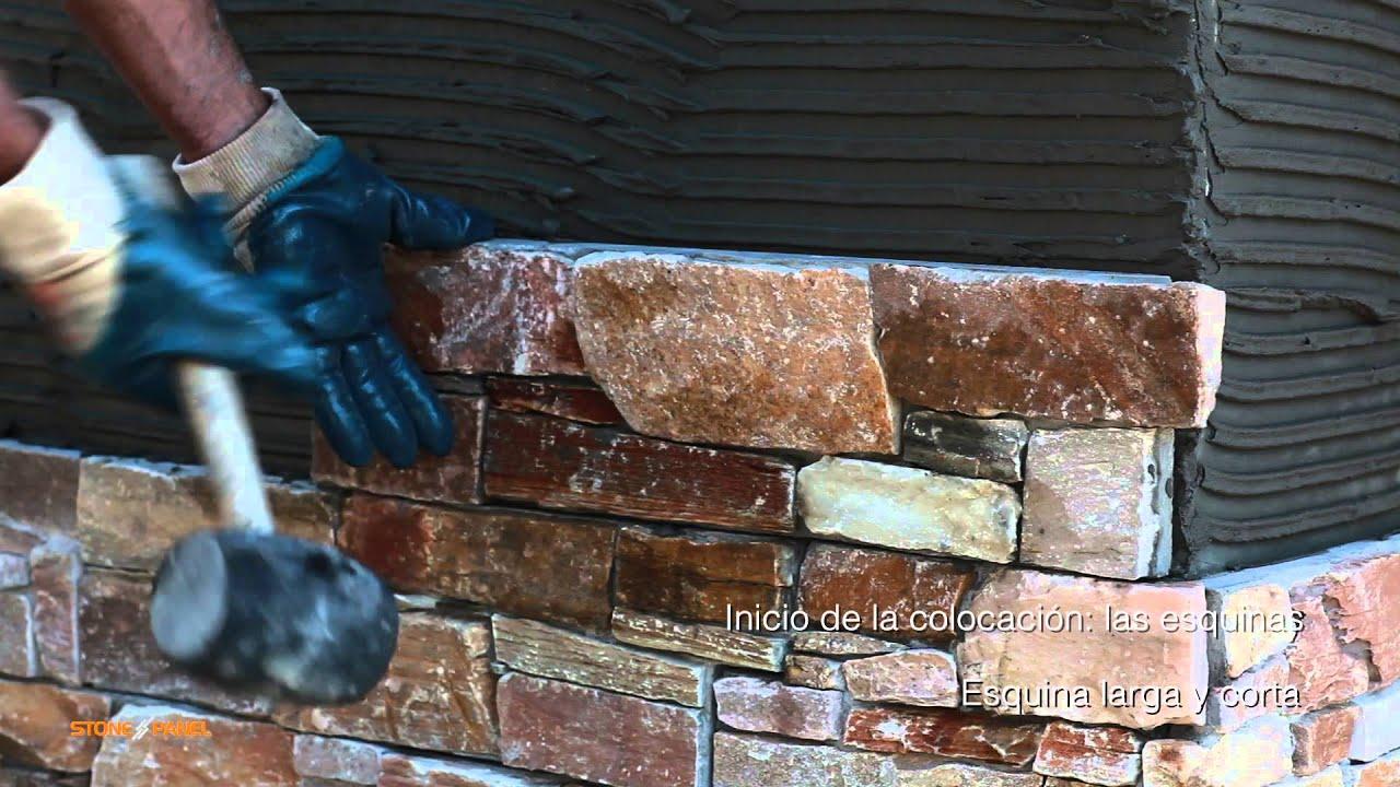 Stonepanel instalaci n de paneles de piedra natural - Paneles piedra natural ...