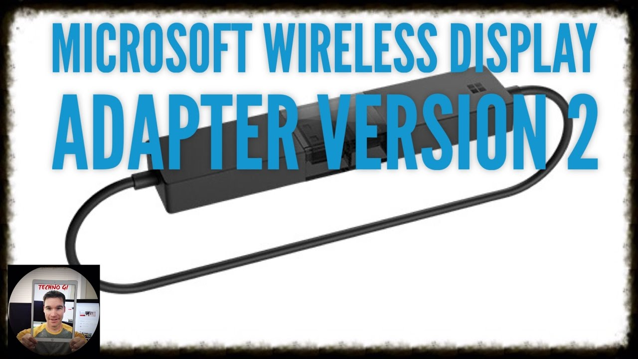 Microsoft Wireless Display Adapter V2 - YouTube