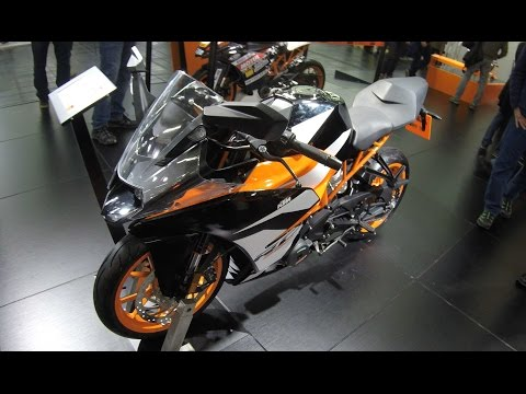 KTM RC 390 !! SUPERBIKE !! NEW MODEL 2017 !! WALKAROUND !!