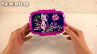 Ланч бокс Kite My Little Pony LP17-163. Видео обзор. Детский ланчбокс