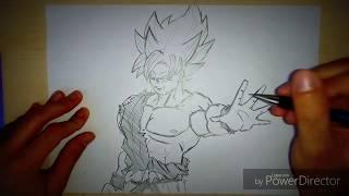 Sketch al volo - Goku Super Saiyan