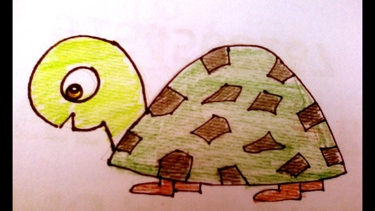 Uncategorized How To Draw A Turtle For Kids how to draw a turtle for kids youtube kids