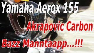 Test Sound Knalpot Racing Akrapovic Import Yamaha Aerox