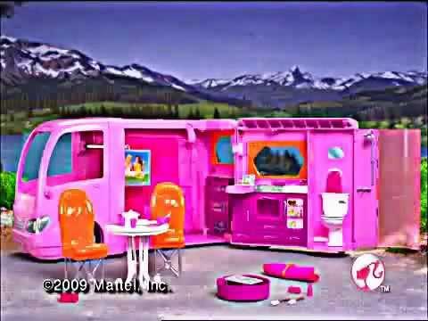 & Mattel - Barbie - Glamour Camper - YouTube