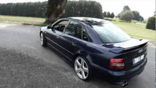 audi a4 b5 2001 clean styling driving footage