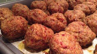 Mediterranean-style Meatballs
