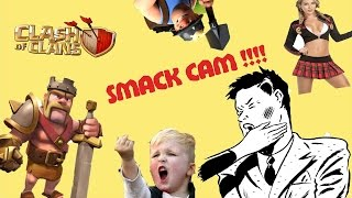 Clash of Clans | funny smack cam | whip cream | Live war attacks | NEW troop THE miner