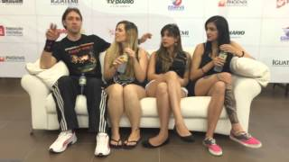 SANA Fest 2015 - Entrevista - Detonator e as Musas do Metal