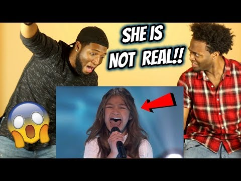 Angelica Hale Receives Golden Buzzer From Howie Mandel! - America's Got Talent: The Champions