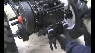 видео запчасти тяжелого мотоблока