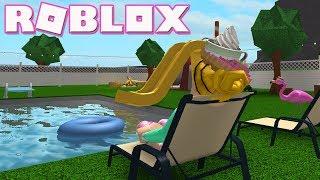 Roblox: Welcome to Bloxburg [BETA] ~ Pool & Working