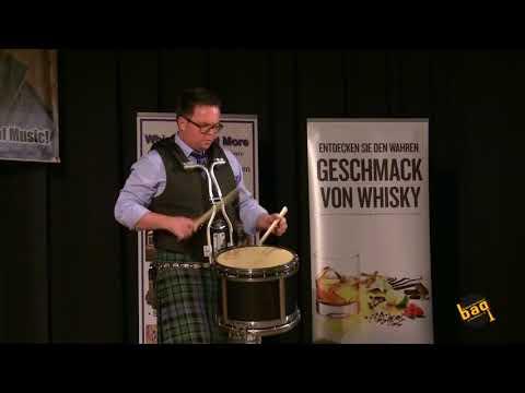 Steven McWhirter: Recital der Judges,  BAG Wintercompetition 2018 in Bremen