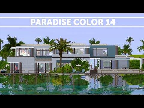 The Sims 3 - House Building - Paradise Color 14
