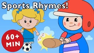 Sports Rhymes   Nursery Rhymes from Mother Goose Club!