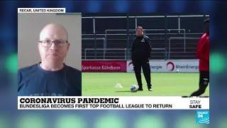 Covid 19 in Germany Bundesliga is first top football league to return behind closed doors