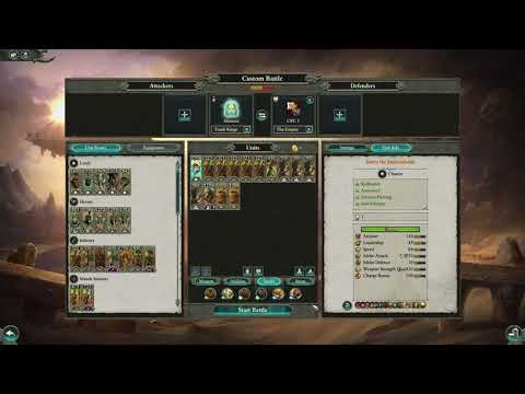 Total War: WARHAMMER 2 | Tomb Kings Army guide |