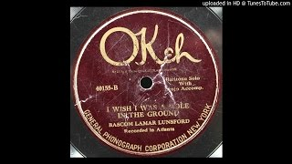 Bascom Lamar Lunsford - I Wish I Was A Mole In The Ground