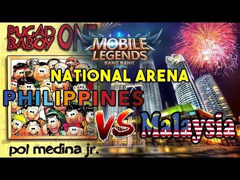 Philippines vs Malaysia - National Arena - Skin & LoadCentral Giveaways - Mobile Legends: Bang Bang