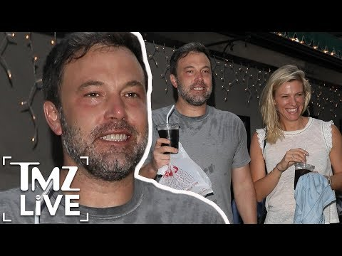 Ben Affleck Steps Out With New Girlfriend Lindsay Shookus | TMZ Live