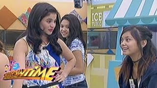 It's Showtime: Anne teaches Ylona how to sing